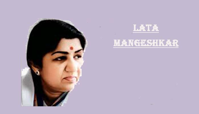 Lata Mangeshkar hindi