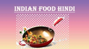 Indian Food hindi