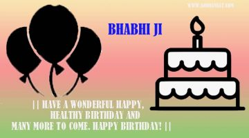 birthday wishes for bhabhi in punjabi